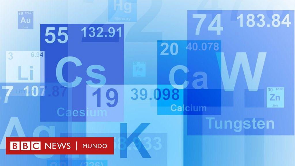 Los Investigadores Que Quieren Cambiar La Tabla Periódica De Los Elementos Bbc News Mundo