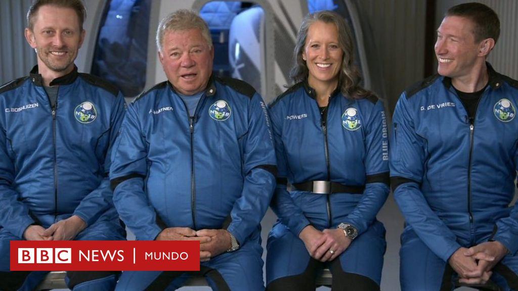 """""""¡Es increíble, increíble!"""": William Shatner, el mítico capitán Kirk de ..."""