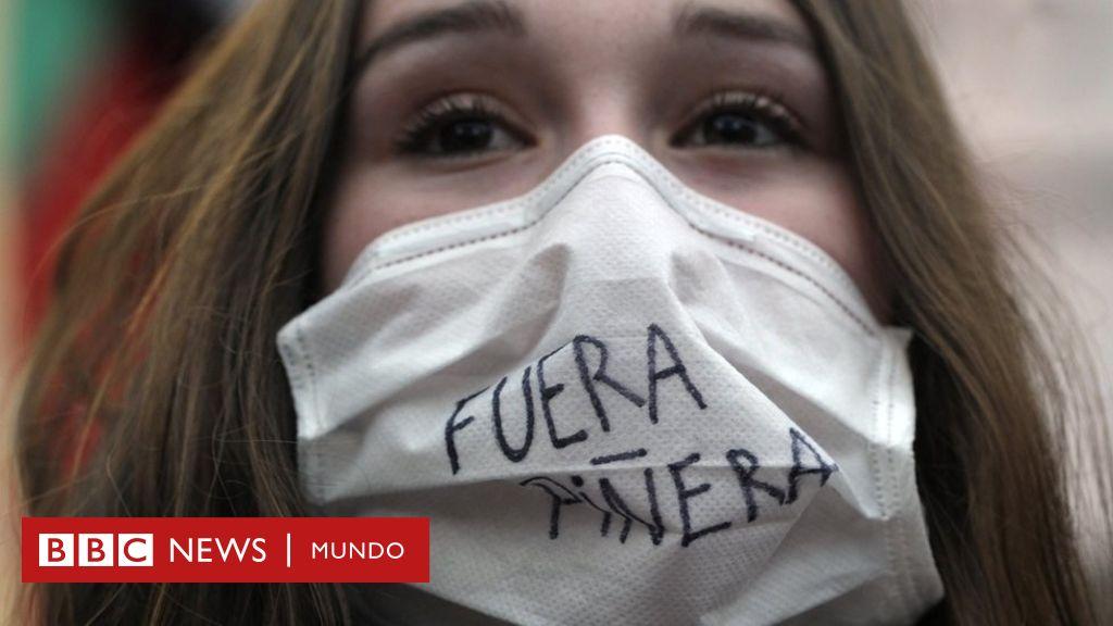 """Protestas en Chile: """"Si tú no tienes plata en este país, te mueres ..."""