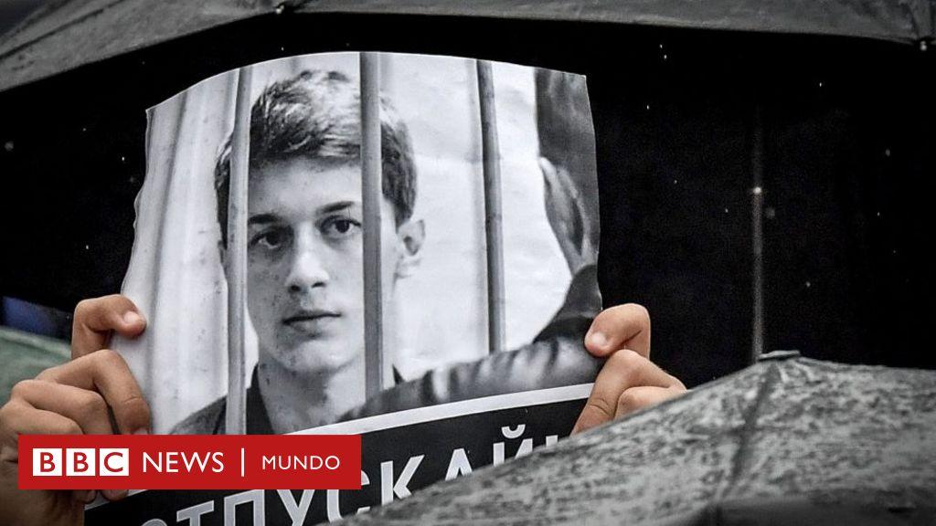Yegor Zhukov, el joven youtuber disidente que se volvió el símbolo de las protestas en Moscú