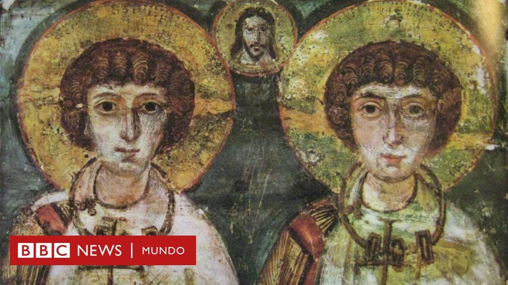 Sergio y Baco, los santos católicos que se cree fueron una pareja gay en la Antigüedad