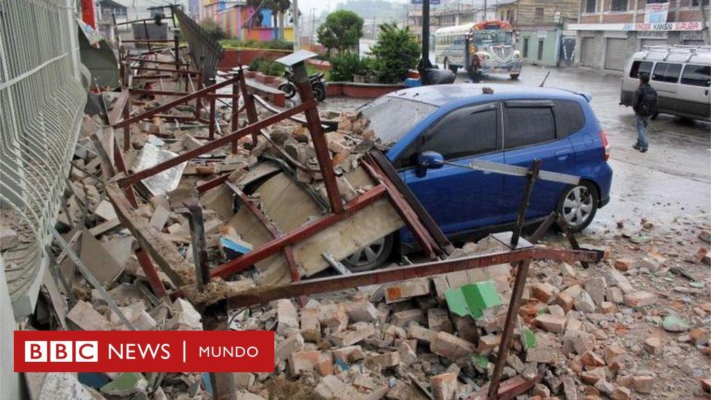 Guatemala Suman Cinco Los Muertos Tras Un Terremoto De Magnitud 6 6 Bbc News Mundo