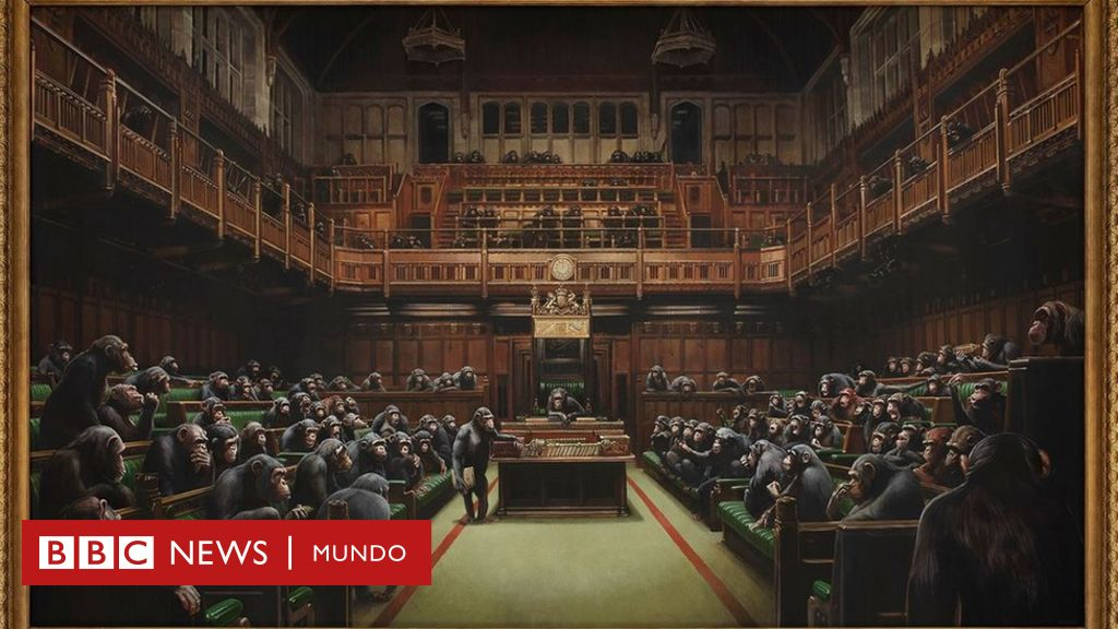 Banksy: la provocadora obra del célebre artista británico que se vendió por un precio récord de US$12 millones