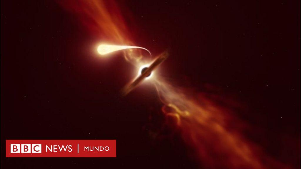 Que Es La Espaguetizacion El Fenomeno Con El Que Cientificos Observaron El Momento En El Que Un Agujero Negro Devora Una Estrella Flipboard