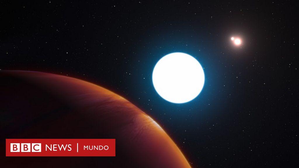 El increíble planeta que orbita tres soles y durante años es de día ...