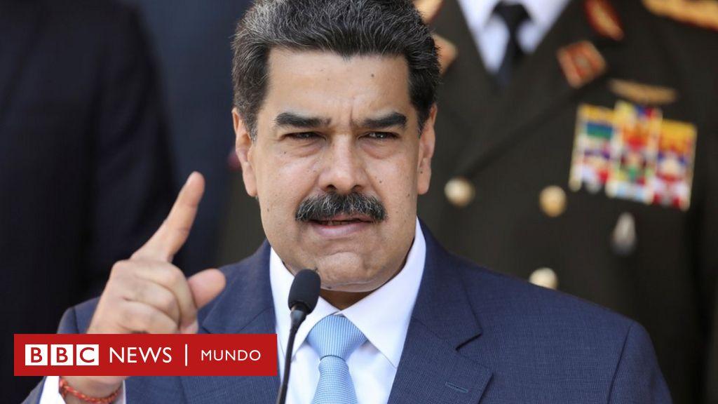 """Venezuela rechaza la acusación de EE.UU. a Maduro por narcotráfico: """"Una nueva modalidad de golpe de Estado"""" - BBC News Mundo"""