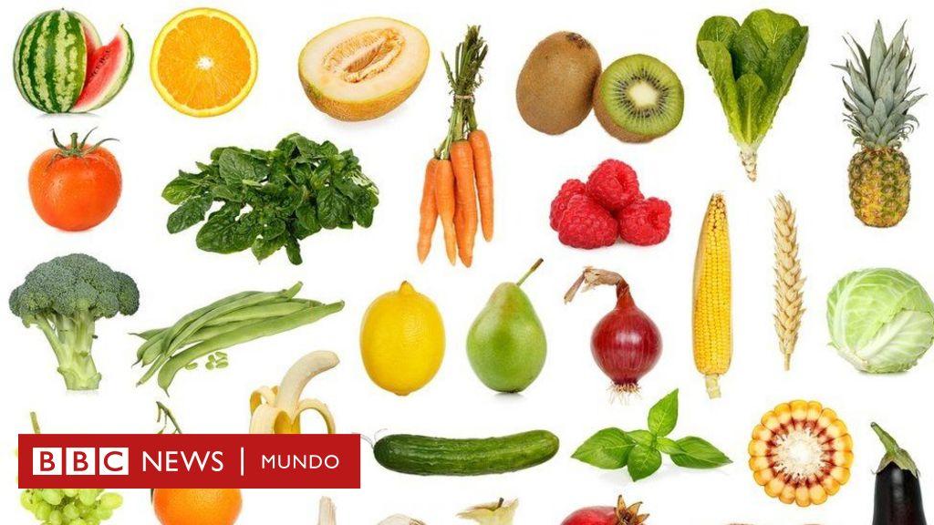 consumo de frutas y verduras en niños