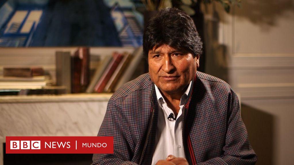 """Evo Morales en entrevista con BBC Mundo: """"Voy a volver en cualquier momento"""" - BBC News Mundo"""