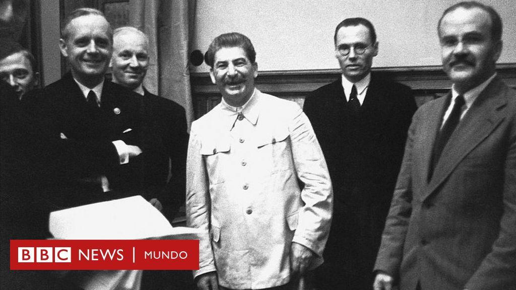 "Ribbentrop-Molotov, el pacto entre nazis y soviéticos que ""condenó a media Europa a décadas de miseria"""