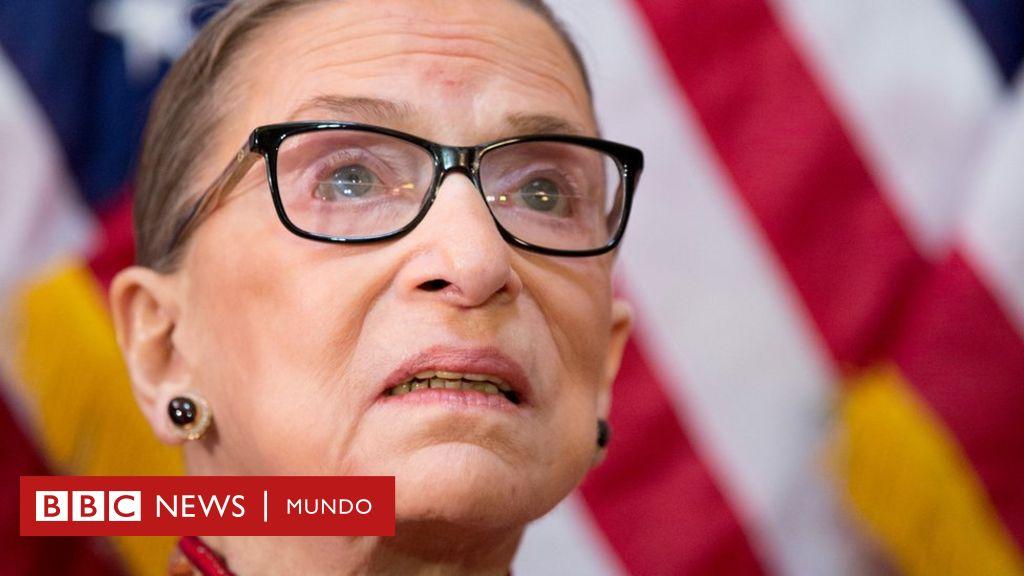 Ruth Bader Ginsburg: 15 frases memorables de la emblemática magistrada de la Corte Suprema de EE.UU., cuya muerte amenaza con causar una crisis política - BBC News Mundo