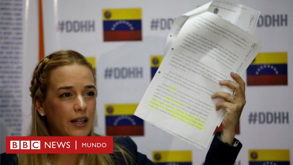 El gobierno de Venezuela bloquea la salida del país a la opositora Lilian Tintori, quien iba a reunirse con mandatarios de Europa