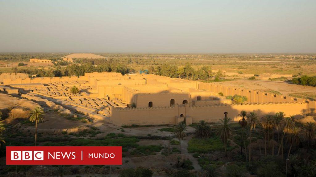 La Antigua Ciudad De Babilonia Que Fue Famosa Por Sus Jardines