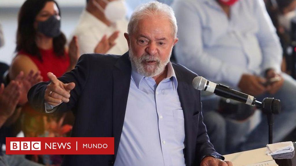 La Corte Suprema de Brasil ratifica el fallo que permitiría a Lula da Silva presentarse a las presidenciales de 2022 - BBC News Mundo