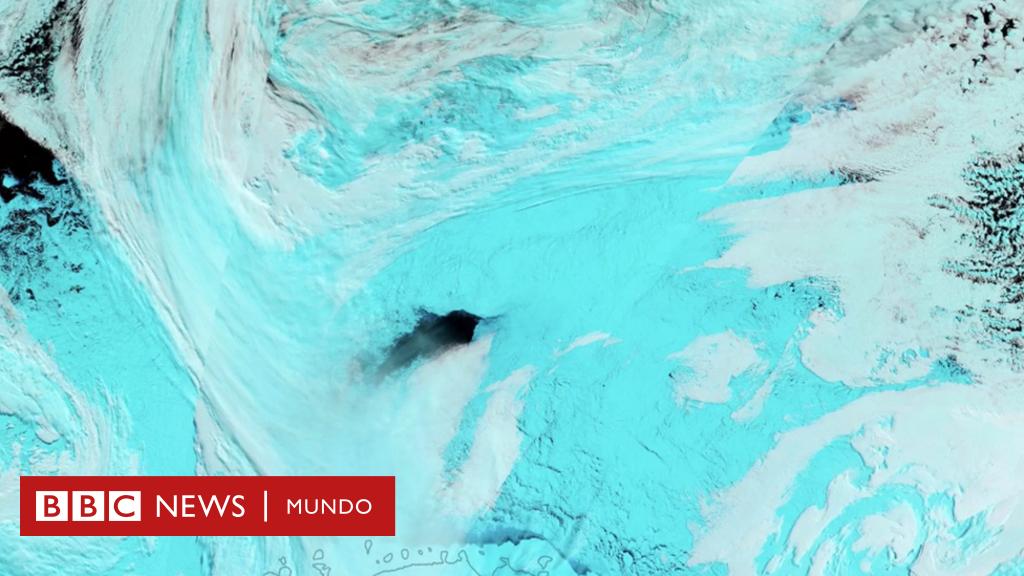 Resuelven El Enigma De Los Enormes Agujeros Negros En El Hielo De La Antártica Bbc News Mundo