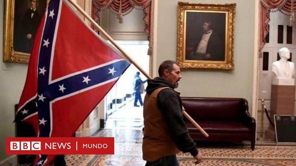 Asalto Al Capitolio De Ee Uu Qué Representa La Bandera Confederada Que Ondeaban Algunos De Los Seguidores De Trump Bbc News Mundo