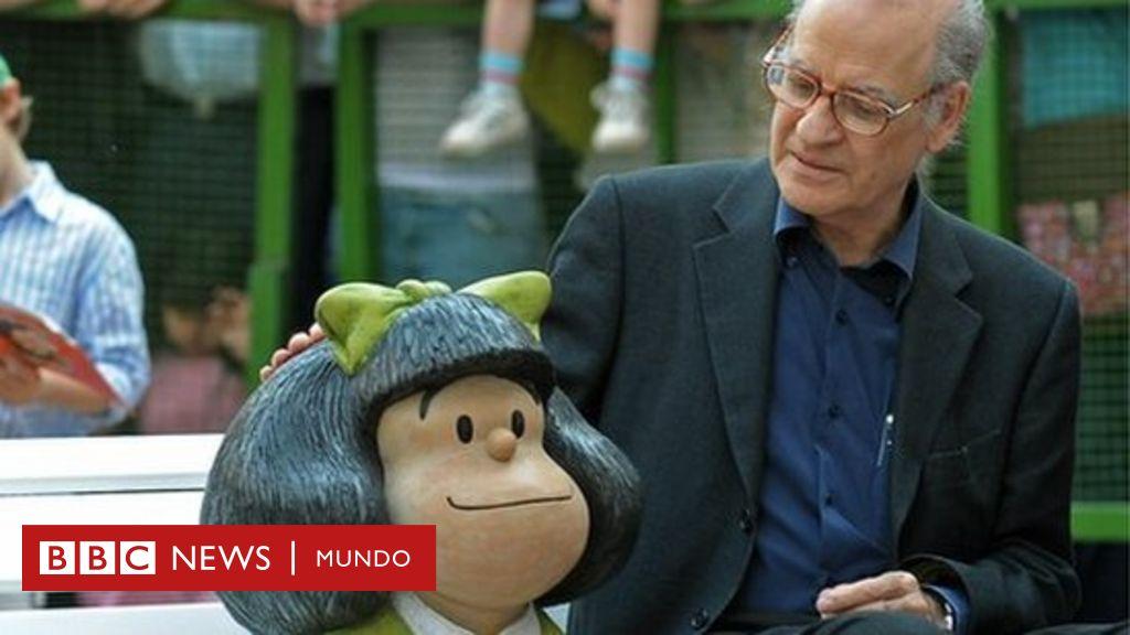 Muere Quino, el creador de Mafalda que conquistó el mundo con su peculiar sentido del humor - BBC News Mundo