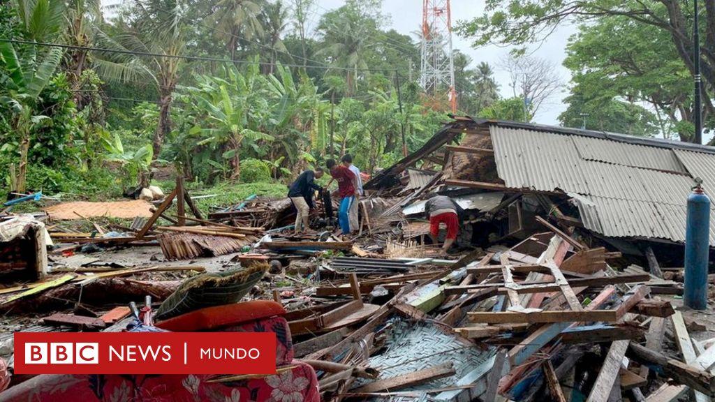 """Tsunami en Indonesia: el volcán Krakatoa entra """"en una nueva fase mortal"""""""