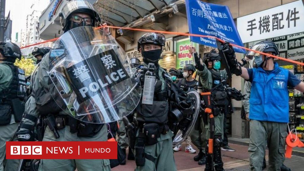 China aprueba la controvertida ley de seguridad para Hong Kong y agrava su enfrentamiento con EE.UU. - BBC News Mundo