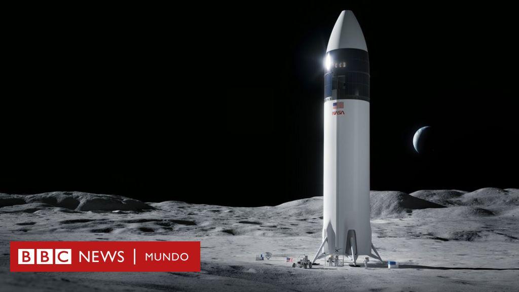 La NASA selecciona a SpaceX para construir la nave con la que regresará a la Luna - BBC News Mundo