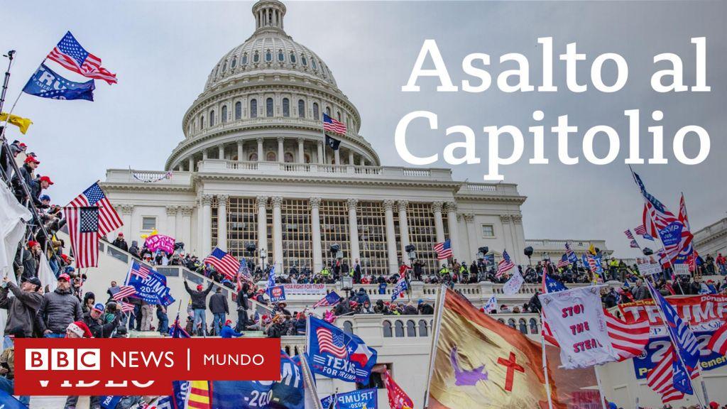 Capitolio de Estados Unidos: el momento en que simpatizantes de ...