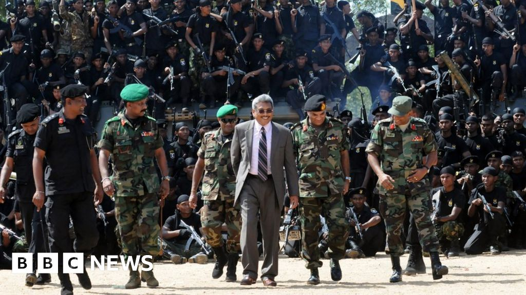 Gotabhaya Rajapaksa: Sri Lanka's controversial ex-defence chief eyes