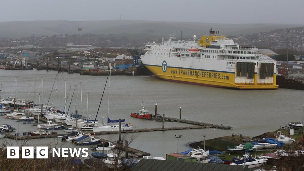 dfds ferries cancelled between newhaven and dieppe bbc news. Black Bedroom Furniture Sets. Home Design Ideas