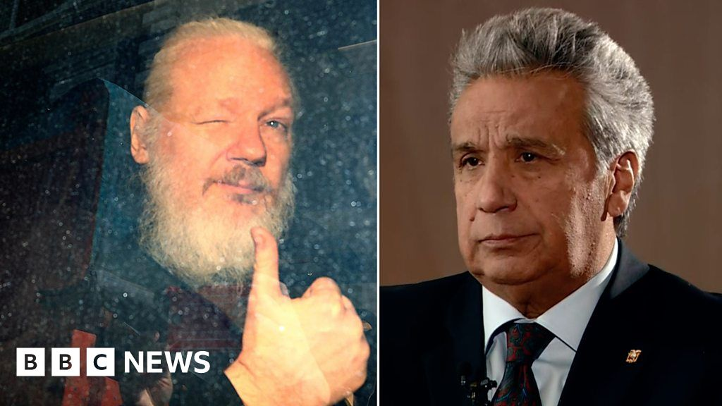 'Assange smeared faeces in our embassy' thumbnail