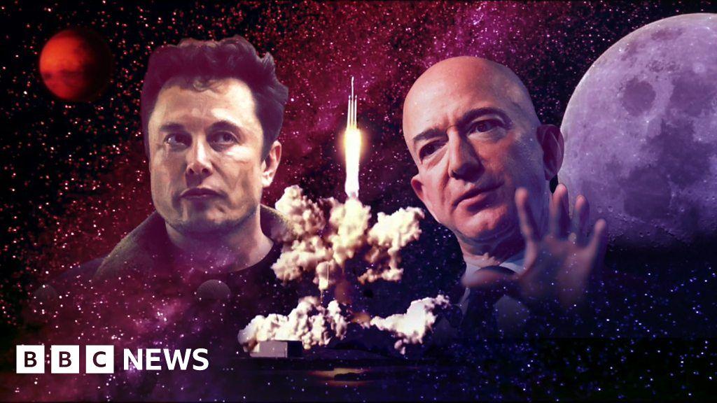 Bezos vs Musk: Silicon Valley space race