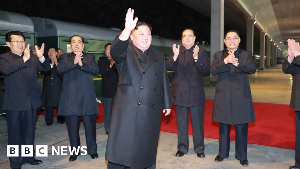 Kim Jong-un visits Russia for summit