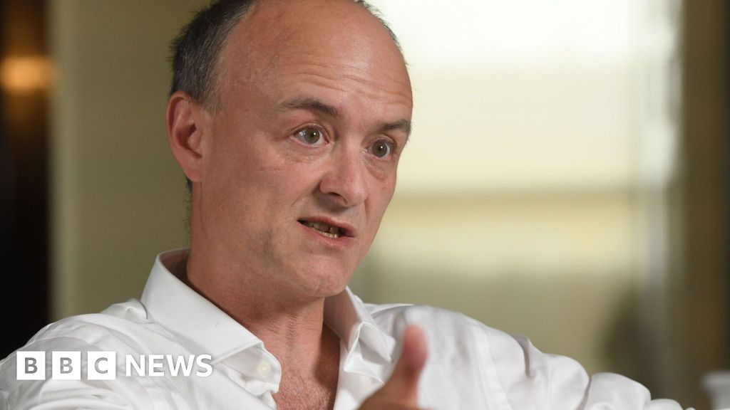 Dominic Cummings: I discussed ousting PM after 2019 election landslide – BBC News