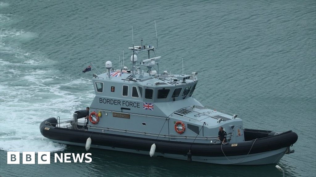 Border Force intercepts four boats in Channel