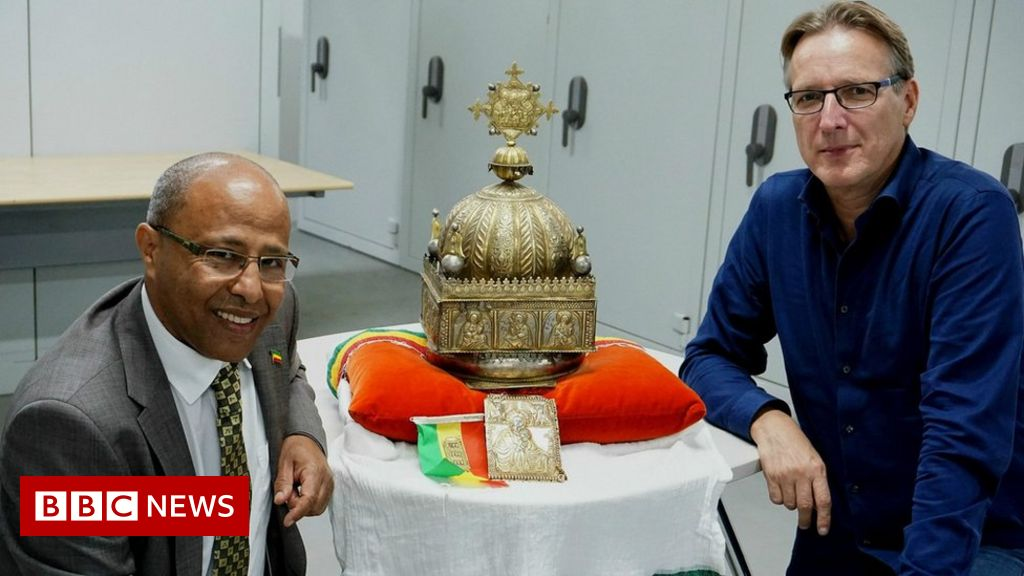 Ethiopian 18th Century crown to return home from Netherlands
