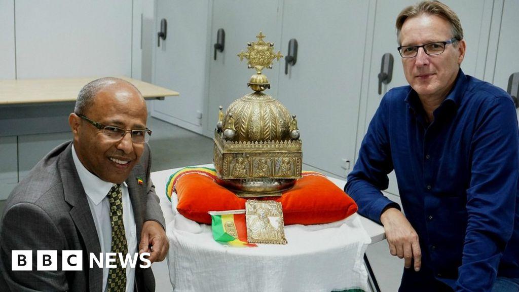 <b>Ethiopian 18th Century crown to return home</b>