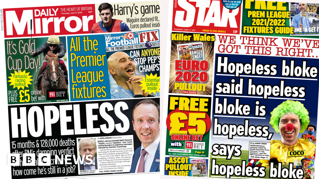 The Papers: Nuclear Dom and return of holidays for vaccinated