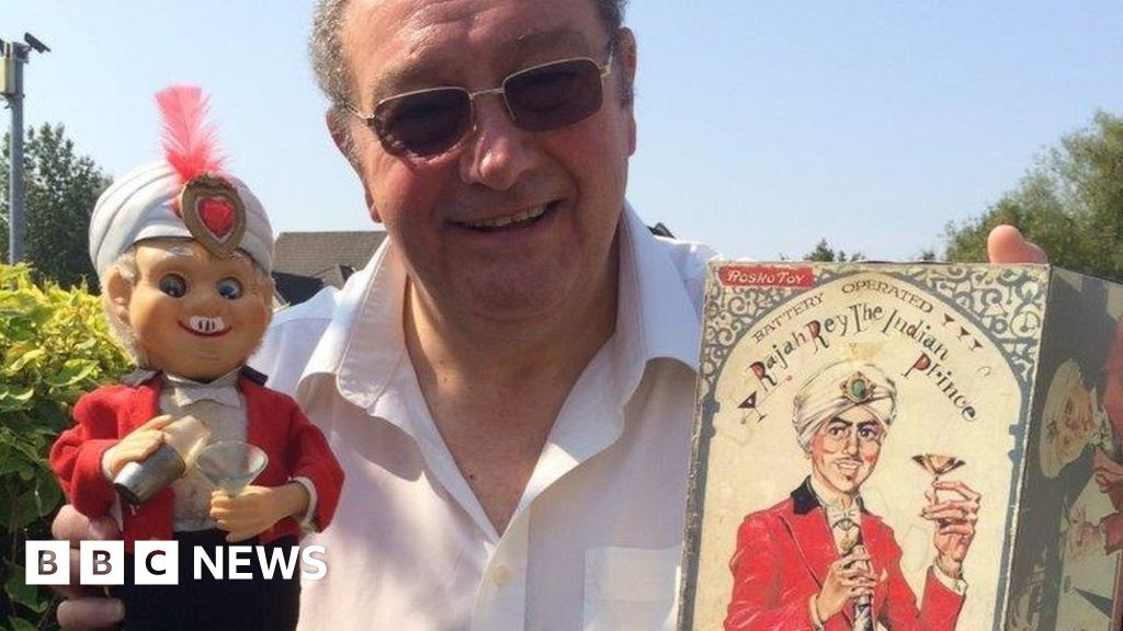 Toy collector Mike Stockwell sells vintage models for £32,000