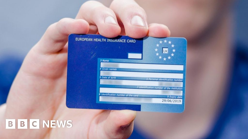 Will The Ehic Still Be Valid After Brexit Bbc News