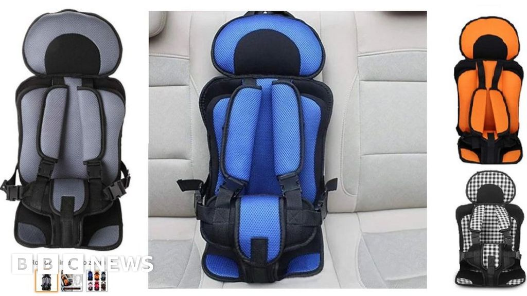 Amazon store sold suspect child seats from £3.99