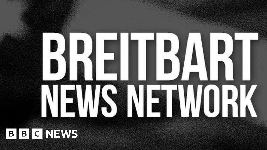 Breitbart news site blocked by ad exchange - BBC News