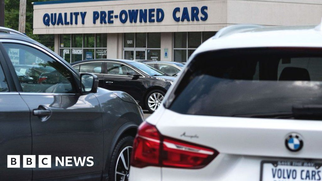 Inflation: Used cars and food push US prices higher – BBC News