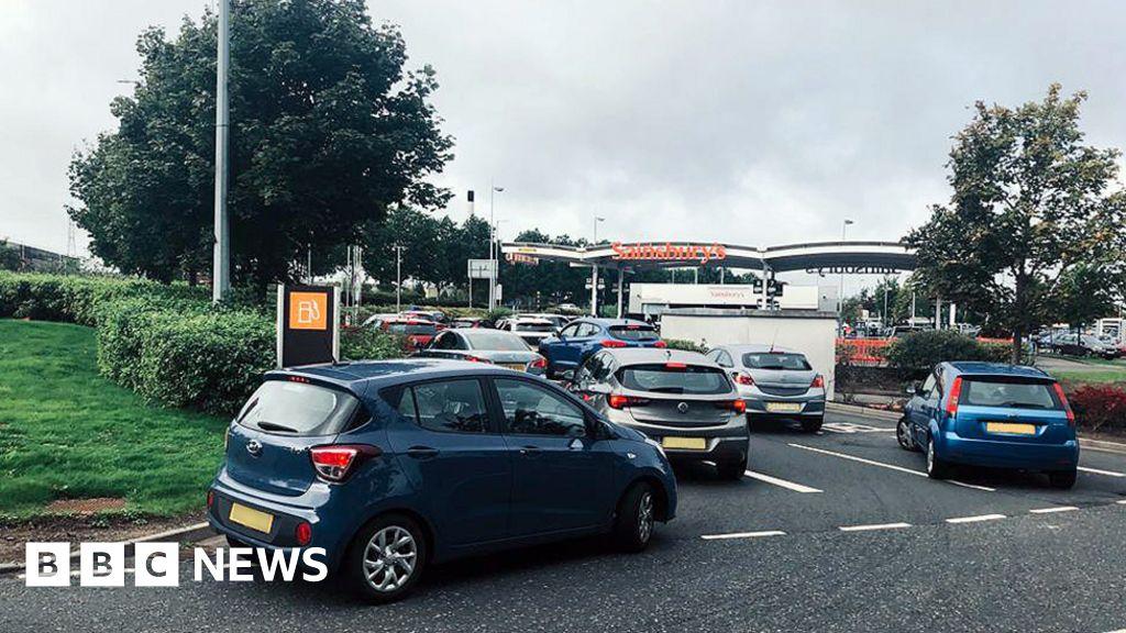 Petrol queues form despite assurance of supplies