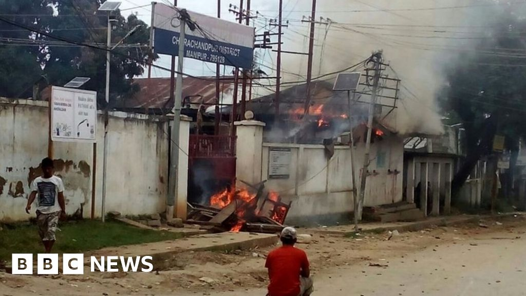 Why Indian state of Manipur is gripped by violence - BBC News
