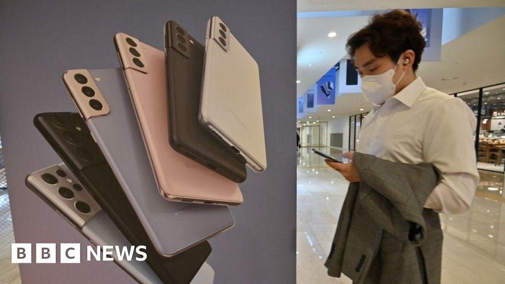 Samsung phones push profits to highest since pandemic began