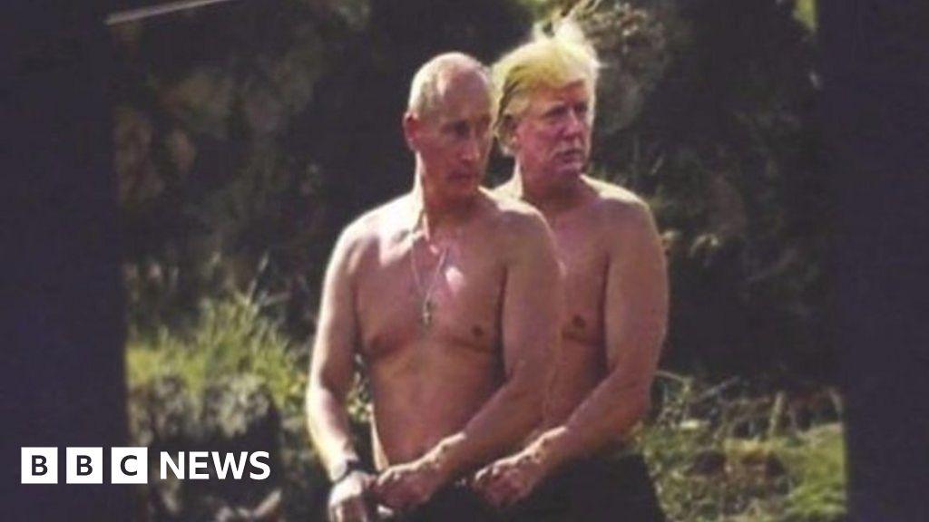 Happy Meme Day President Putin Bbc News