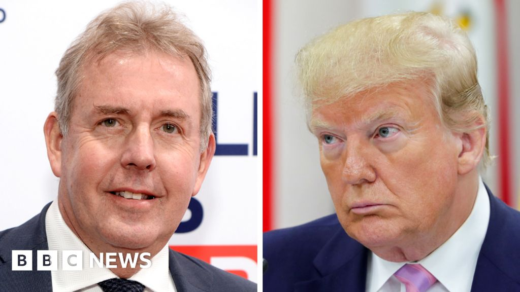 Kim Darroch: Former top UK diplomat  does not regret  Trump criticism