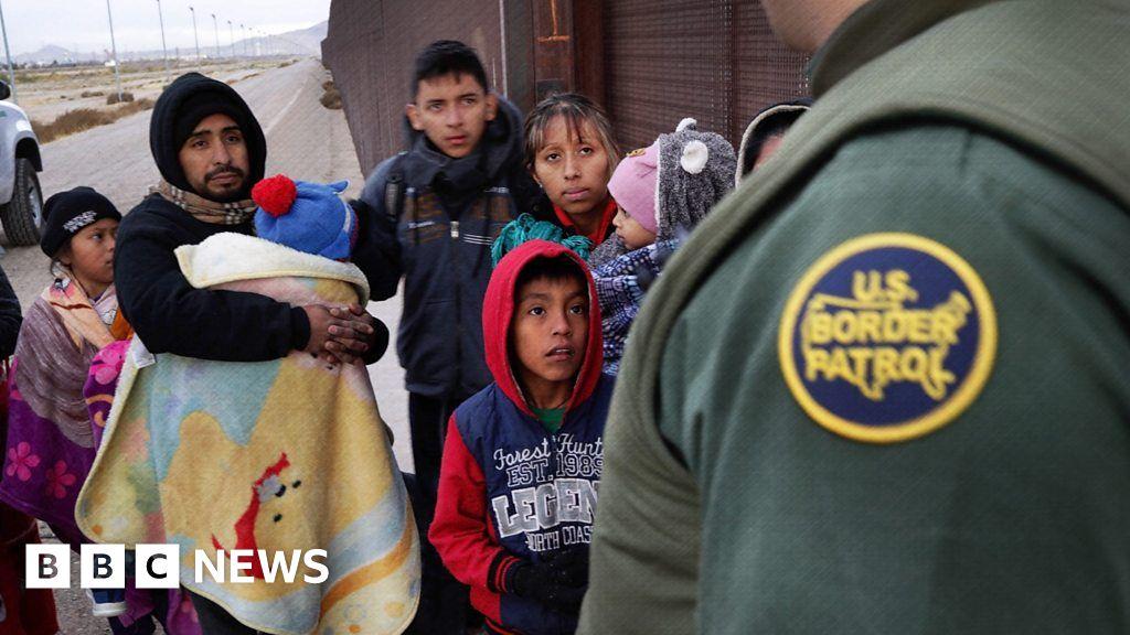 Five numbers that explain US border crisis