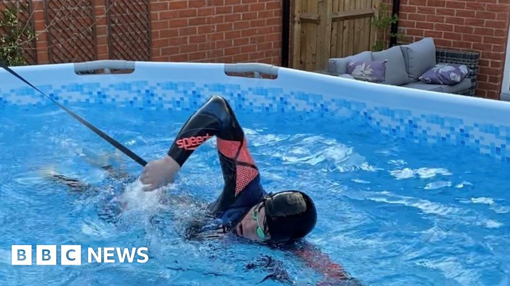 From garden pool to Olympic gold