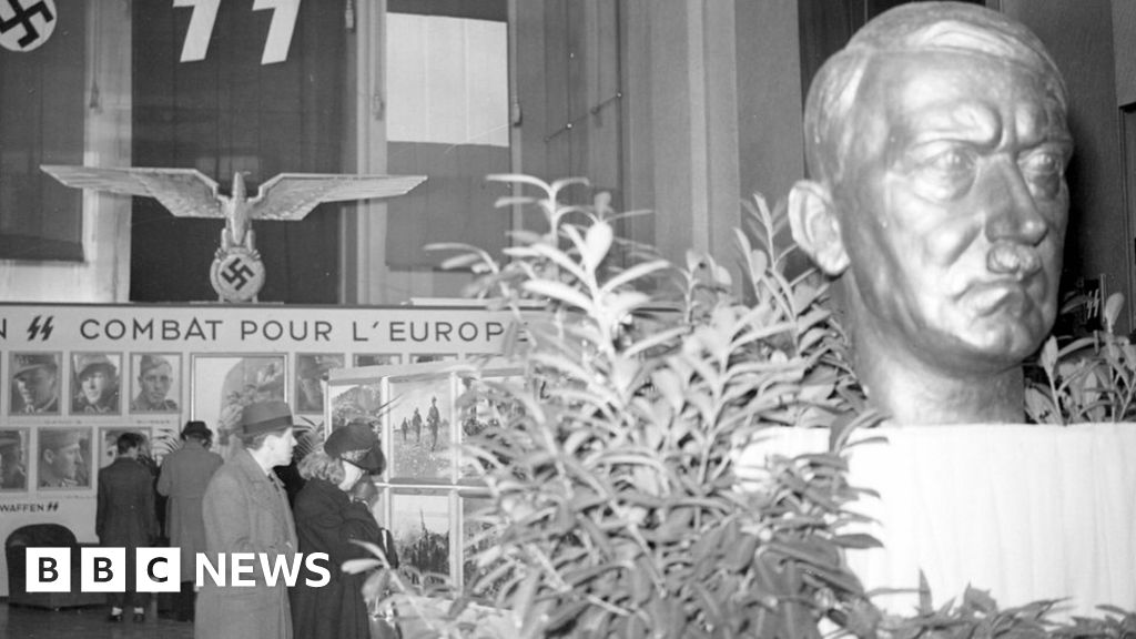 How a Hitler bust was found under French Senate