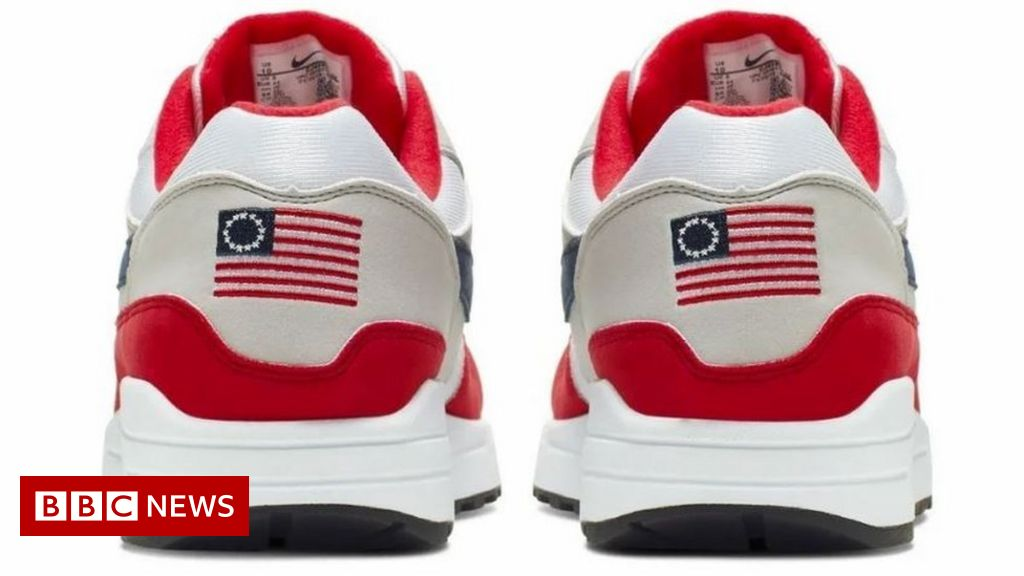 Nike hit by backlash over 'racist trainer' row