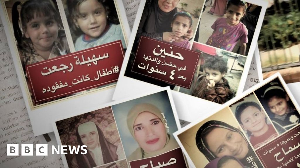 Egypt Facebook page raises hopes for missing children
