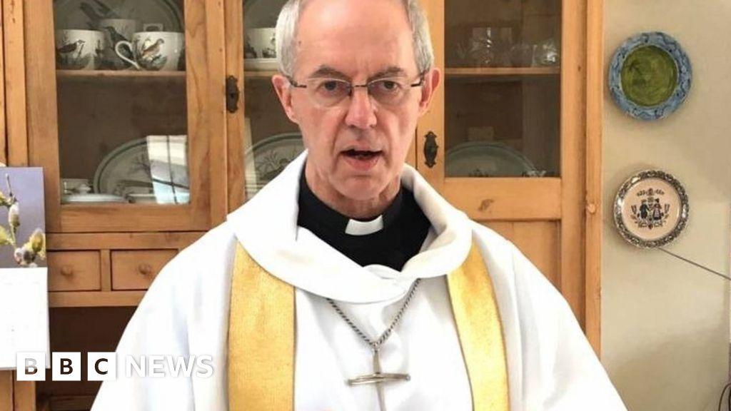 Coronavirus: the Archbishop of Canterbury praises sermon  heroism  of the key workers in the Easter